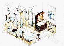 5800572 Увлекательные занятия: как нарисовать комнату