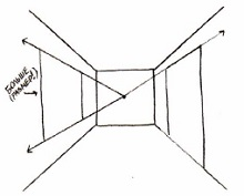 8285852-602x730 Увлекательные занятия: как нарисовать комнату
