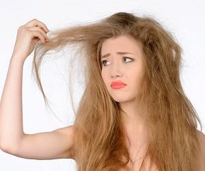 Почему волосы сильно пушатся
