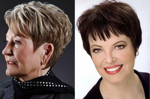 Fryzury Dla Kobiet W Wieku 50 Lat Na średnich Włosach
